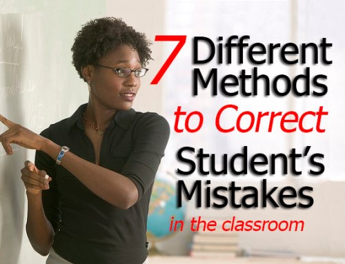 7 Different Ways to Correct Your Student's Errors