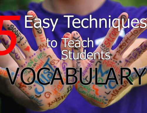 Teach Vocabulary with 5 Easy Techniques